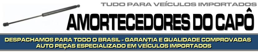 AMORTECEDORES DE CAPÔ PARA VEÍCULOS IMPORTADOS - AMORTECEDORES DE CAPÔ PARA BMW, AUDI, MERCEDES BENZ, VOLVO, SUZUKI, JAGUAR, PORSCHE, LAND ROVER ETC