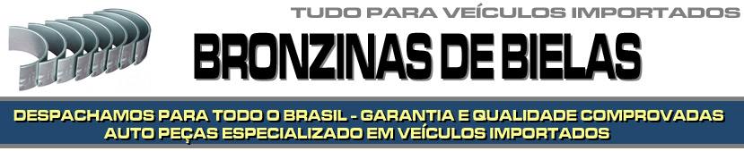 BRONZINAS DE BIELA PARA VEÍCULOS IMPORTADOS - BRONZINAS DE BIELA PARA BMW, AUDI, MERCEDES BENZ, VOLVO, SUZUKI, JAGUAR, PORSCHE, LAND ROVER ETC