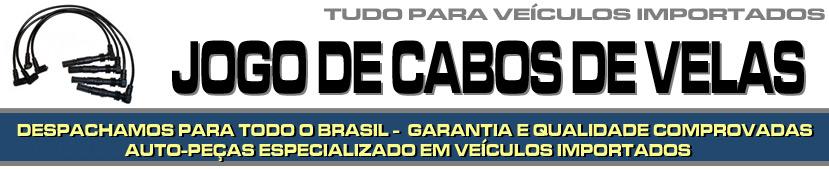 JOGO DE CABOS DE VELAS PARA VEÍCULOS IMPORTADOS - JOGO DE CABOS DE VELAS PARA BMW, AUDI, MERCEDES BENZ, VOLVO, SUZUKI, JAGUAR, PORSCHE, LAND ROVER ETC