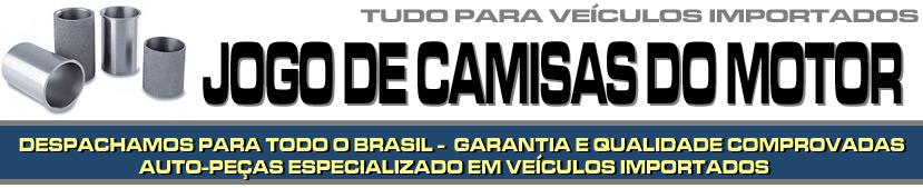 JOGO DE CAMISAS DO MOTOR PARA VEÍCULOS IMPORTADOS - JOGO DE CAMISAS DO MOTOR PARA BMW, AUDI, MERCEDES BENZ, VOLVO, SUZUKI, JAGUAR, PORSCHE, LAND ROVER ETC