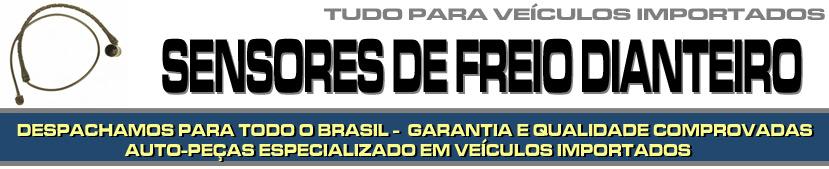 SENSOR DE PASTILHA DE FREIO DIANTEIRO PARA VEÍCULOS IMPORTADOS, PEÇAS DE FREIO, PEÇAS PARA IMPORTADOS