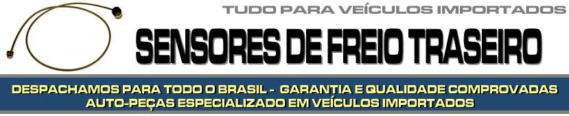 SENSOR DE PASTILHA DE FREIO TRASEIRO PARA VEÍCULOS IMPORTADOS, PEÇAS DE FREIO, PEÇAS PARA IMPORTADOS
